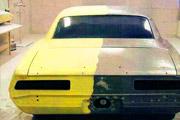 очистка краски с автомобиля без повреждения металла
