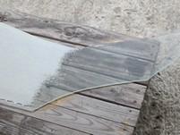 удаление налёта после очистки стекла